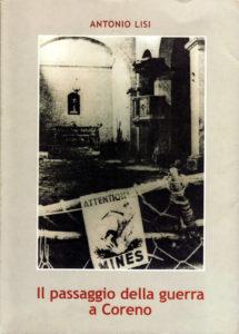 Book Cover: Il Passaggio della guerra a Coreno