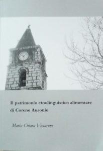 Book Cover: Il patrimonio etnolinguistico alimentare di Coreno Ausonio