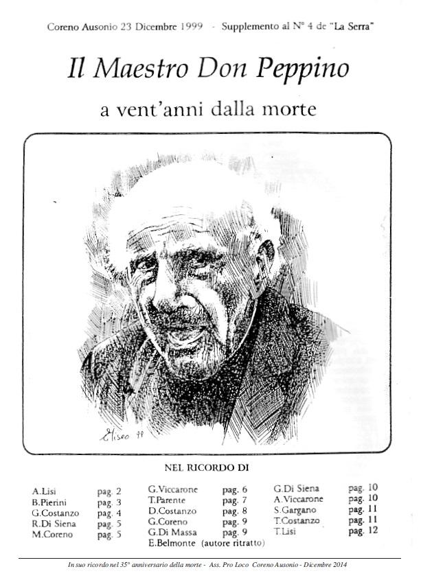 Book Cover: Il maestro Don Peppino